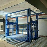 Wholesale warehouse freight elevator hydraulic cargo lift from china suppliers
