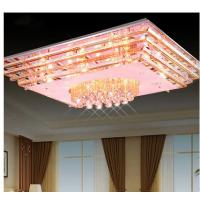 Wholesale Rectangle crystal ceiling lamp new style ceiling lamp CE and UL standard from china suppliers