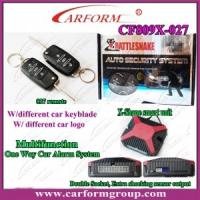 Wholesale One Way Car Alarm CF809X System, Double Socket, Easy For Installation Auto Alarms Systems from china suppliers
