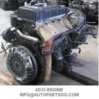 Wholesale 2nd Hand Fuso Mitsubishi 4D35 Engine Assy , Mitsubishi Diesel Engine Parts from china suppliers