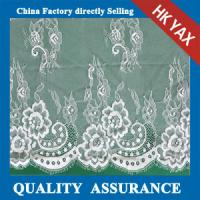 Wholesale bridal dress lace fabrics in off-white make-to-order White wedding dress from china suppliers