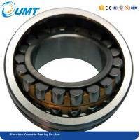 China Steel cage double spherical roller bearing 22216 cc / w33 22214 cc 22210 22209 on sale