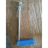 China Metallic And Plastic Blue Crank Hospital Bed Parts For Manual Hospital Bed on sale