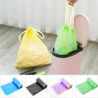 Wholesale Yellow String Colored Trash Bags , Can Liners Trash Bags Custom Printing from china suppliers