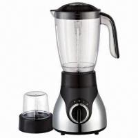 China 1.5L Blender Jar, 2 Speeds with Pulse Function Grinder, 400W Power and Spray Silver Housing on sale