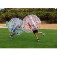 Wholesale Airtight TPU Inflatable Human Bumper Soccer Ball With Pump from china suppliers