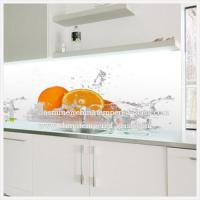 Wholesale Easy Clean Printing Glass Splash Back for Kitchen from china suppliers