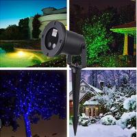 China 2019 New Waterproof IP44 laser star for outdoor.Landscape Christmas laser lights RGB colors Projector on sale