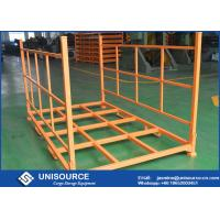 Wholesale 2400lbs Load Adjustable Warehouse Tire Racks Foldable with Removable Posts from china suppliers