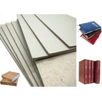Wholesale Hard Laminated Paper And GSM Grey Chipboard For Bookcover , 1.2mm Thickness from china suppliers