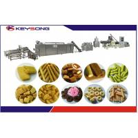 Wholesale Puff Corn Rice Core Filling Snacks Making Machine Snack Food Extruder Equipment from china suppliers