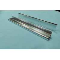 Wholesale Silver Polishing T5 Alloy Aluminum Shower Room Profiles from china suppliers