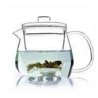 Wholesale Hand Made Clear Glass Teapot / Teaset With Loose Leaf Tea Infuser 500ml from china suppliers