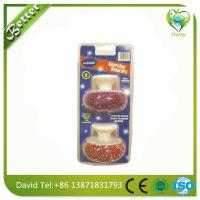 Wholesale high efficiency cleaning steel wool brush oven cleaning scourer from china suppliers
