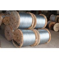 Wholesale Hot Dip Galvanized Galvanized Steel Strand For Guy Wire / Core Wire from china suppliers