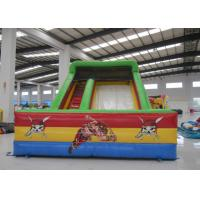China Kindergarten Baby Commercial Inflatable Water Slides Rutsche Pirate Theme Colourful for sale