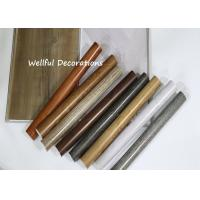 Long life time PVC Decorative Film 0.07mm X 1000mm with color fastness to light for sale