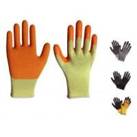Wholesale Latex coated gloves,10G high grade T/C liner,latex coated,crinkle finsh,anti-acid/alkali from china suppliers