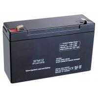 Wholesale SLA 3FM12 6v 12ah buildings Security safe fire Alarm System Battery Replacement from china suppliers
