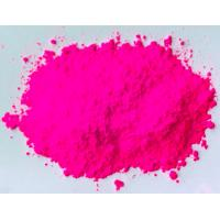 China Daylight Fluorescent Pigment Pink Color Luminescence Powder Printing Fluorescent Ink on sale