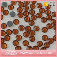 Wholesale Factory Wholesale Bling Shimmering Studs Rhinestones Crystal Clear Swarovski Quality Garment Accessories Dress Trim from china suppliers