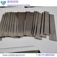 Wholesale High quality tungsten carbide blade for cutting rubber and fabric from china suppliers