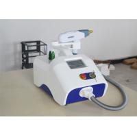 China White Color Portable Laser Tattoo Removal Equipment Q Switch Fast Treatment Speed on sale