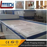 automatical woodworking membrane vacuum press machinery for sale