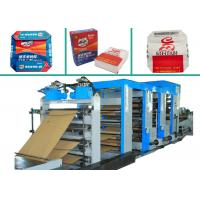 4 Colors Printing Multiwall Paper Bags Making Machine PLC Control Paper Bag Machinery for sale