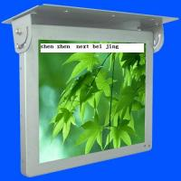 China 19inch HD WIFI / 3G Bus Digital Signage , Antivibration Design Bus LCD Advertising Player on sale