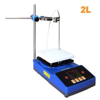 Wholesale Laboratory High Quality Temperature Cheap Magnetic Stirrer with Heating Hot Plate from china suppliers