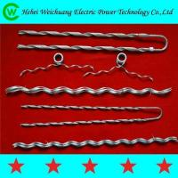 Wholesale Clamp Preformed Guy Grip Dead End Electric Power Fittings / 120kn Dead End Clamp from china suppliers