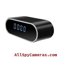 Buy cheap 720P IR 12pcs Night Vision Light WIFI HD Hidden clock spy camera for android and from wholesalers