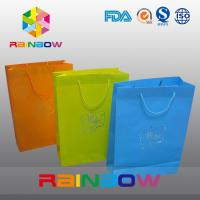 Wholesale Promotion Cutom Color Printing Customized Paper Bags / Gift Bag grease proof paper bag from china suppliers