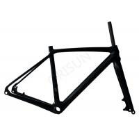 Wholesale Lightweight Carbon Bike Frame Disc Brake With Customized Painting Design from china suppliers