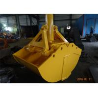 One Cylinder Clamshell Bucket , Komatsu PC360 Telescopic Boom Grapple Bucket