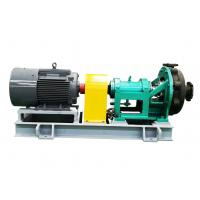 High Speed Corrosion Resistant Self Priming Centrifugal Pump for High Temperature Chemical for sale