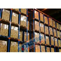 Wholesale Blue Orange Material Handling Racks Drive Through Racking For Cold Storage from china suppliers