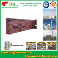 Power Station Boiler Water Wall Natural Circulation High Temperature