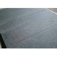 Absolute Black Granite Stone Tiles 2cm Thickness Customized Dimension for sale