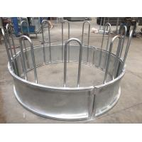 Wholesale Metal Galvanized Steel Round Bale Pasture Hay Rack Livestock Feeder from china suppliers