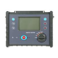 Megger Ground Impedance Tester , High Precision Digital Earth Resistance Meter