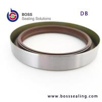 Wholesale DB rotary shaft high pressure oil seals with NBR,FKM lip and spring energizer oil seals from china suppliers