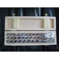 3-pieces Wood Auger Drill Bits in wooden box