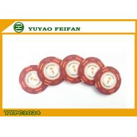 Best Casino Quality Custom Clay Poker Chips With Two Side Stickers wholesale