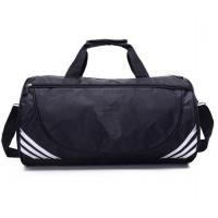 China 600D Polyester Cheep promotional travel bag fashion mens duffle bag easy carry foldable duffle bag on sale