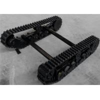 Wholesale Chassis with Rubber Track and UHMW-PE Whees for Lawn Mower(1095mm in length) from china suppliers