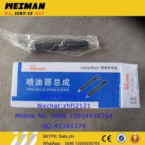 China SDLG orginal fuel injector, 4110000054219, engine spare parts  for deutz engine TD226B-6G on sale