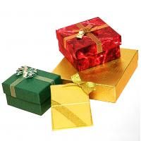 Elegance paper gift box for jewelry for sale