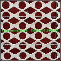 Wholesale Round Hole Perforated metals supplier/Decorative perforated sheet metal from china suppliers